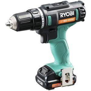 RYOBI(リョービ) 10.8V充電式ドリルドライバ(1,300mAh) BD-1100(688806A)|kikaiyasan