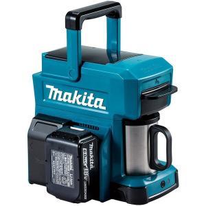マキタ [10.8V/14.4V/18V対応]充電式コーヒーメーカー(バッテリ・充電器別売)カラー:青・赤 CM501DZ/DZAR|kikaiyasan
