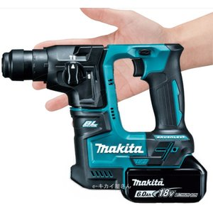 【ビット3本プレゼント!】マキタ 18V-17mm充電式ハンマドリル(6.0Ah) HR171DRGX|kikaiyasan