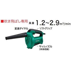 マキタ ブロワ(吹飛ばし専用) MUB400|kikaiyasan