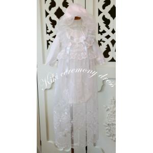 退院、お宮参り、少しおめかししたい時にkikiのセレモニードレスは、いかがですか。 豪華な花柄のオー...