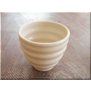 ビールグラス 陶器 誕生日 フリーカップ 母の日 父の日 敬老の日 KAMON(渦紋)フリーカップ プレゼント ホワイトデー 還暦 祝い|kiki-kiki