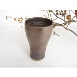 ビールグラス 陶器 誕生日 母の日 父の日 敬老の日 アイアンスリムビアカップ プレゼント ホワイトデー|kiki-kiki