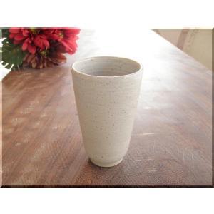 ビールグラス 陶器 誕生日 母の日 父の日 敬老の日 マットな白マグ プレゼント 父の日 ホワイトデー 還暦 祝い|kiki-kiki
