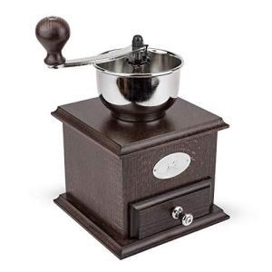 プジョー PEUGEOT コーヒーミル 手挽き 粗さ調節 豆容量 25g 22cm 茶木 ブラジル 19401765|kikilaland