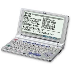 SHARP 電子辞書 PW-M800 ( 22コンテンツ コンパクトサイズ)|kikilaland