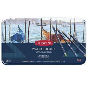 ダーウェント 水彩 色鉛筆 ウォーターカラーペンシル 36色セット 32885 kikilaland