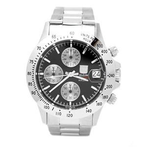 [エルジン] 腕時計 FK1184S-B メンズ シルバー|kikilaland