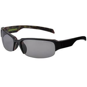 SWANS(スワンズ) スポーツ 偏光 サングラス ゴルフウォーク GW-3701 ブラック×ブラウンデミ kikilaland