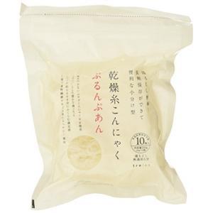 【6袋セット】 低カロリー!ヘルシー!無添加!無農薬! 乾燥 糸こんにゃく ぷるんぷあん (25g×10個入)X6?|kikilaland
