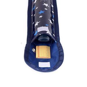 リコーダー&定規ケース リコーダー入れ リコーダー袋 ブリリアントスター 紺 N4207300|kikilaland