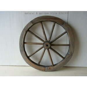 IDYLLIC GARDEN Garden Wheel / アンティーク風の木製車輪|kikisuu