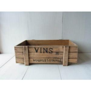 ガーデンウッドボックス tray M / アンティーク風浅形ガーデンボックス|kikisuu