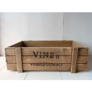 ガーデンウッドボックス tray L / アンティーク風浅形ガーデンボックス kikisuu