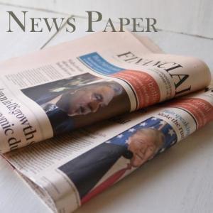 英字新聞(緩衝材用) 50枚入り/ 未使用イギリスの英字新聞50枚セット・緩衝材用