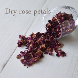 Dry rose petal /ドライローズ ペタル・薔薇の花びらのポプリ|kikisuu