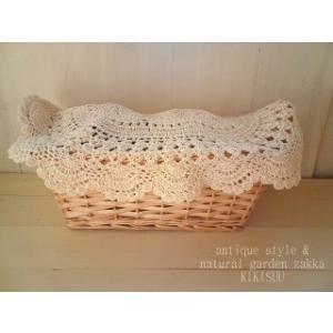Crochet place mat/ ナチュラルなクロシェマット・メール便可|kikisuu
