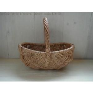 ensoleille petit basket /  ナチュラルなハンドル付きプチバスケット|kikisuu