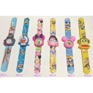 キャラクターワンタッチ子供用腕時計【送料無料】 全9種|kikkousisyoppu
