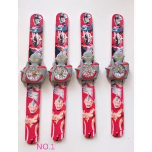【送料無料】スバイダ-マン ウルトラマン アイアンマン キャラクター 子供用腕時計 赤 時計 kikkousisyoppu