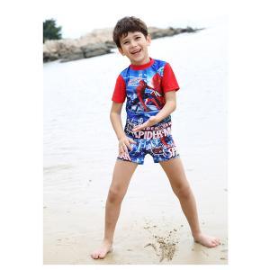【送料無料】 スパイダーマン  水着短パン上下セット90cm〜140cm【メール便対応】|kikkousisyoppu