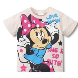 送料無料ミニーマウス半袖Tシャツ90cm〜130cm 韓国子供服 春夏 メール便対応|kikkousisyoppu