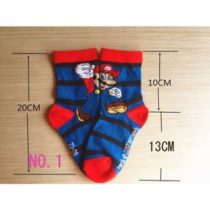 クルーソックス キャラクター スーパーマリオ 靴下 子供  男の子|kikkousisyoppu