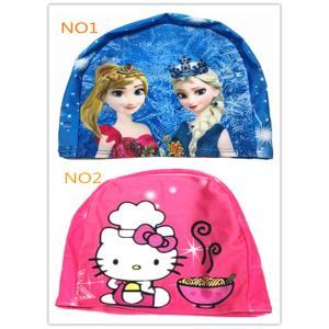 送料無料キッズ スイムキャップ 水泳 帽子 可愛いスイミングキャップ キャラクター 選べる全2種 |kikkousisyoppu