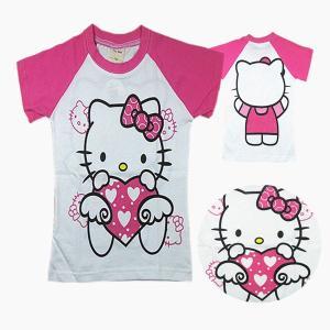 送料無料ハローキティ半袖Tシャツ90cm〜130cm 韓国子供服 春夏 メール便対応|kikkousisyoppu