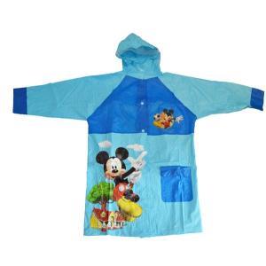 レインコート(ミッキーマウス)サイズ95cm〜125cm 雨の日もたのしくお出かけ♪|kikkousisyoppu