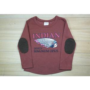 限定セール/SALE 送料無料インディアン 薄手長袖Tシャツ 90cm〜130cm 綿100% kikkousisyoppu