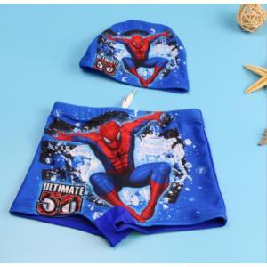 送料無料水着 スパイダーマン 85cm〜135cm春夏水泳帽付きメール便対応 kikkousisyoppu