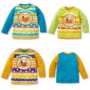 【送料無料】アンパンマン薄手長袖Tシャツ 90cm〜130cm 全3色 綿100%|kikkousisyoppu