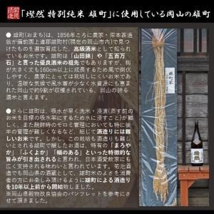 日本酒 燦然 山廃 純米 雄町 1.8L|kikuchishuzo|03