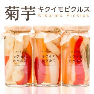 菊芋 キクイモ ピクルス 120g×3個セット 国産 菊いもイヌリン 酢漬け ふくしまプライド。体感キャンペーン(その他)