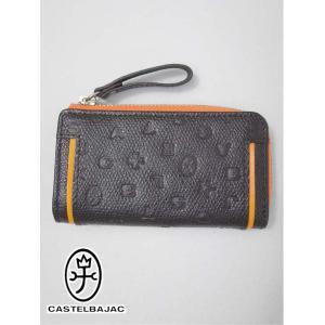 カステルバジャック CASTEL BAJAC キーケース (10.5×5.5×1.5cm:メンズ) 新作モデル kikuji