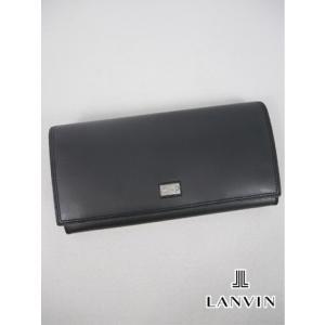 LANVIN ランバン 長財布 (19×10×2.5cm:メンズ) 新作モデル kikuji