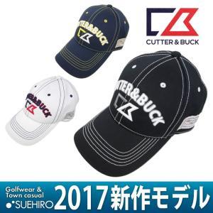 カッター&バック CUTTER&BUCK ゴルフウェア キャップ (FREE(57〜59cm):メンズ) 2017新作モデル|kikuji