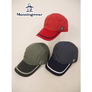 マンシングウェア Munsingwear ゴルフ キャップ (FREE(56〜60cm/ツバ8cm):メンズ) 2017秋冬新作モデル|kikuji