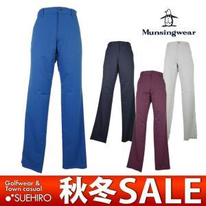 マンシングウェア Munsingwear ゴルフウェア ストレッチパンツ (76/79/82/85/88cm:メンズ) 秋冬 32%OFF/SALE kikuji