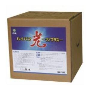 業務用「万立:ハイバフ光ナノプラス 18L」皮膜強化剤兼表面洗浄剤 kikumi