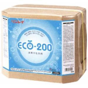 業務用洗剤「リンレイ:エコ200 18L入り」中性床表面洗剤|kikumi
