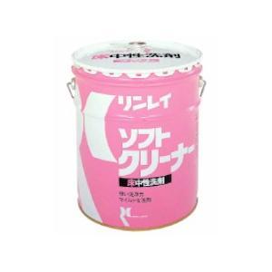 業務用洗剤「リンレイ:ソフトクリーナー 18L入り」床用中性洗剤|kikumi