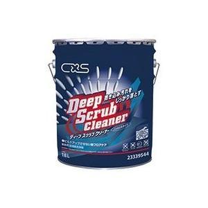業務用洗剤「シーバイエス:ディープスクラバー 18L入り」床用洗浄剤|kikumi