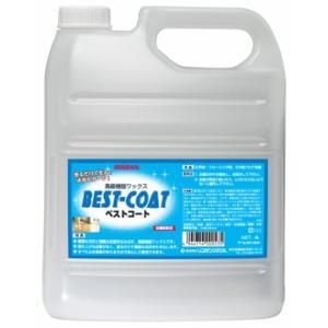業務用ワックス「リスダンケミカル:ベストコート 4L」床用樹脂ワックス|kikumi