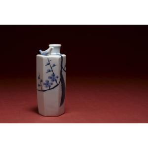 酒器 うぐいす徳利 ( 梅木 )|kikusui-sake