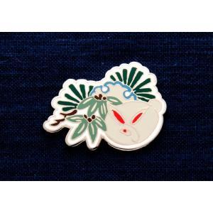 KEITA MARUYAMA プロデュース菊水オリジナルピンバッジうさぎ kikusui-sake