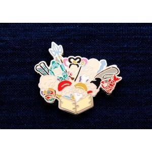 KEITA MARUYAMA プロデュース菊水オリジナルピンバッジ七福神