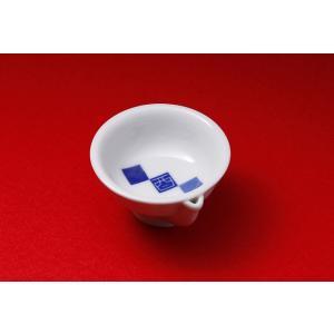 酒器 菊水 オリジナル うぐいす盃 市松模様|kikusui-sake