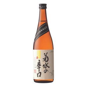 清酒 720ml 菊水の辛口|kikusui-sake